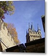 Castle From Afar Metal Print