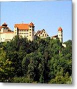 Castle Harburg 3 Metal Print