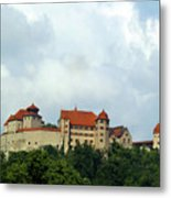 Castle Harburg Metal Print