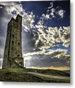 Victoria Tower Castle Hill Huddersfield 1 Metal Print