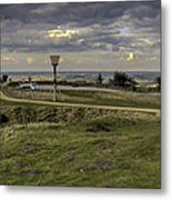 Castle Hill Huddersfield Uk View 3 Metal Print