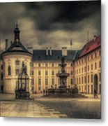 Castle Hill In Color Metal Print