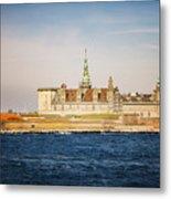 Castle In Helsingor Denmark Metal Print
