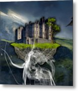 Castle In The Sky Art Metal Print