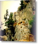 We Climbed Up To The Old Castle  Metal Print