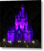 Castle Of Cinderella Metal Print