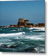 Castle Of Herod The Great Metal Print