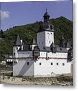 Castle Pfalz Metal Print