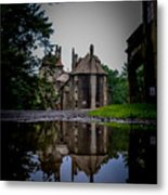 Castle Reflections Metal Print