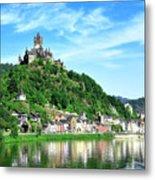 Castle Reichsburg Metal Print