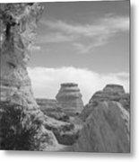Castle Rock Rock Formation Metal Print