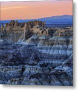 Castle Rock Sunset Metal Print