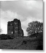 Castle Ruin Metal Print