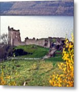 Castle Ruins Scotland Metal Print