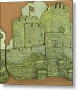 Castle Rushen Metal Print