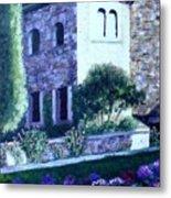 Castle Sestri Levante Metal Print