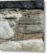 Castle Walls Metal Print