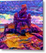 Castles In The Sand Cs-1a Metal Print