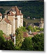 Castles Of Curemonte Metal Print