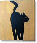 Cat Dance..... Optical Illusion Metal Print