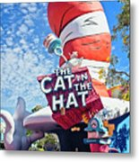 Cat In The Hat Series 2999 Metal Print