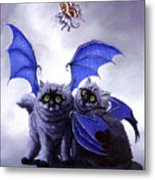Catabat Snack Metal Print