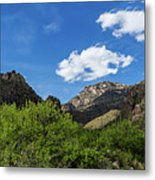 Catalina Mountains In Tucson Arizona Metal Print