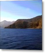 Catalina Shoreline Metal Print