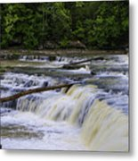 Cataract Falls Phase 1 Metal Print