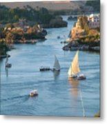 Cataracts Of The Nile Metal Print