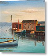 Catboat Metal Print