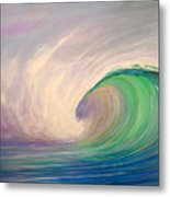 Catch The Wave Metal Print