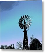 Catch The Wind Metal Print