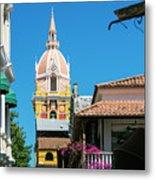 Catedral De Cartagena Metal Print