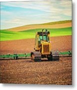 Caterpillar And The Earth Metal Print