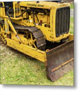 Caterpillar D2 Bulldozer 01 Metal Print