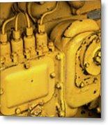 Caterpillar D2 Bulldozer 06 Metal Print