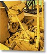 Caterpillar D2 Bulldozer 07 Metal Print