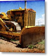 Caterpillar Twenty Two Metal Print
