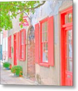 Catfish Row Chs Metal Print