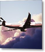Cathay Pacific Airbus A330-343 Metal Print
