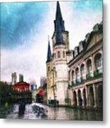 Cathederal From Side Metal Print