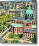 Cathedral Basilica Of Saints Peter And Paul Philadelphia  Metal Print