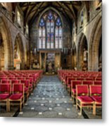 Cathedral Entrance Metal Print