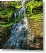 Cathedral Falls - Paint Metal Print