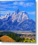 Cathedral Group Impressions Metal Print