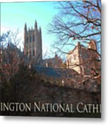 Cathedral In The Fall Travel Metal Print