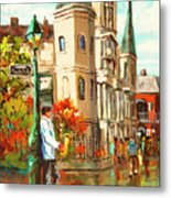 Cathedral Jazz Metal Print