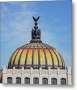 Cathedral Of Art In Mexico Metal Print