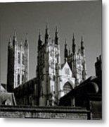 Cathedral Of Canterbury Metal Print